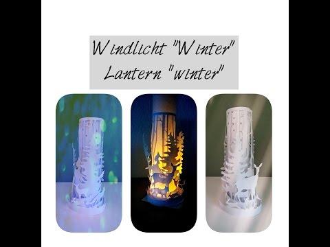 Windlicht aus Papier | Paper lantern || D.I.Y. ||