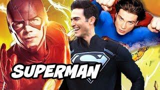 The Flash Season 5 Superman Smallville Scene Explained