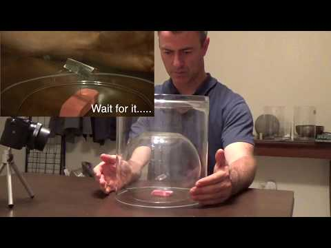 Telekinesis Double Glass No Hands, update from Sean McNamara from MindPossible