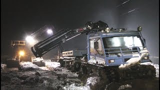 Big Float - Heavy Recovery of Track Vehicle- Terribärgarn - Sweden 4K