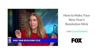 How to Accomplish New Year's Resolutions