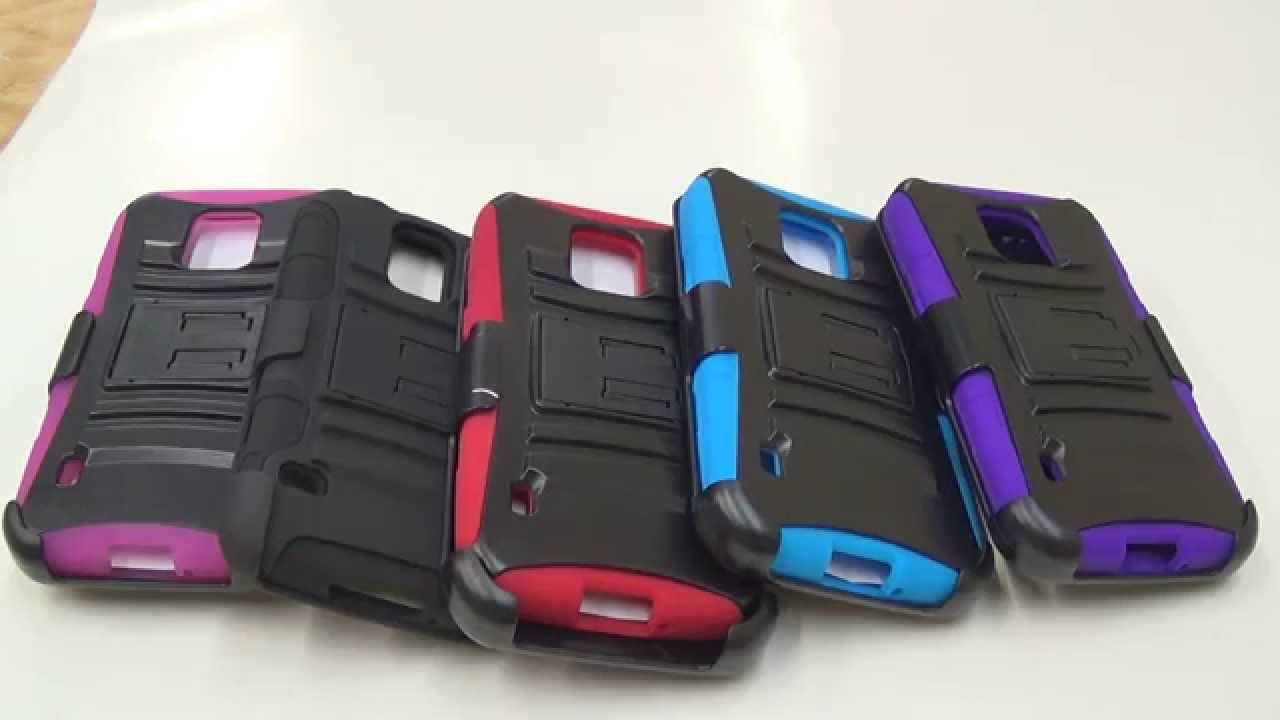 low cost cf7e3 5713d Samsung Galaxy S5 ACTIVE Robotic Holster Belt Clip Case Overview By  CellCasesUSA