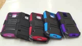 Samsung Galaxy S5 ACTIVE Robotic Holster Belt Clip Case Overview By CellCasesUSA