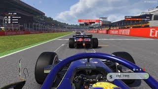 F1 2019 - Formula 2 25% Feature Race at Hockenheim [4k 60FPS]