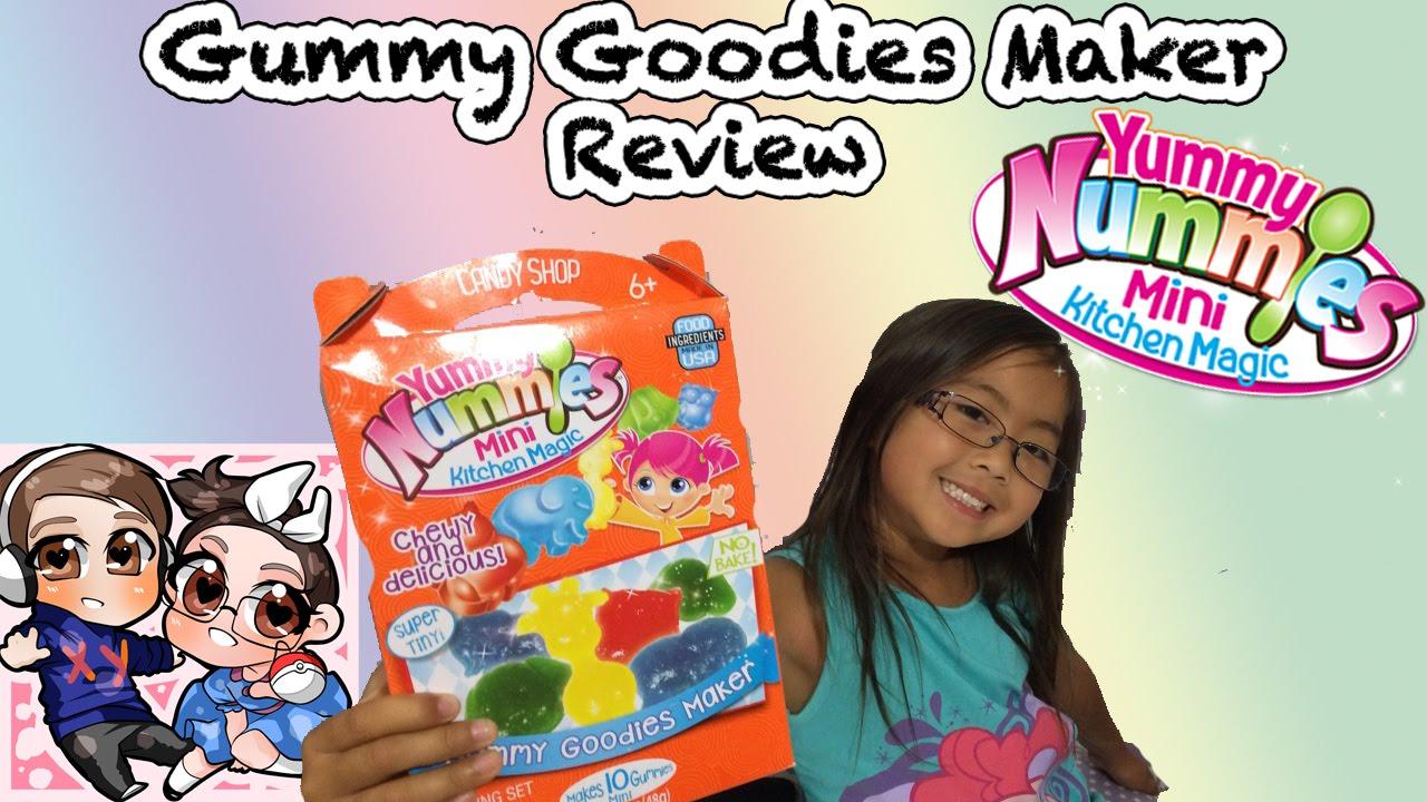 Kitchen Magic Reviews #18: Gummy Goodies Maker - Yummy Nummies Mini Kitchen Magic - XY Adventurez