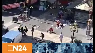 Trauer und Entsetzen: IS reklamiert Anschlag in Barcelona für sich