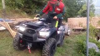 ATV KYMCO MXU 700 with trailer
