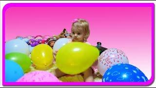Surprize in baloane colorate! Anabella Show