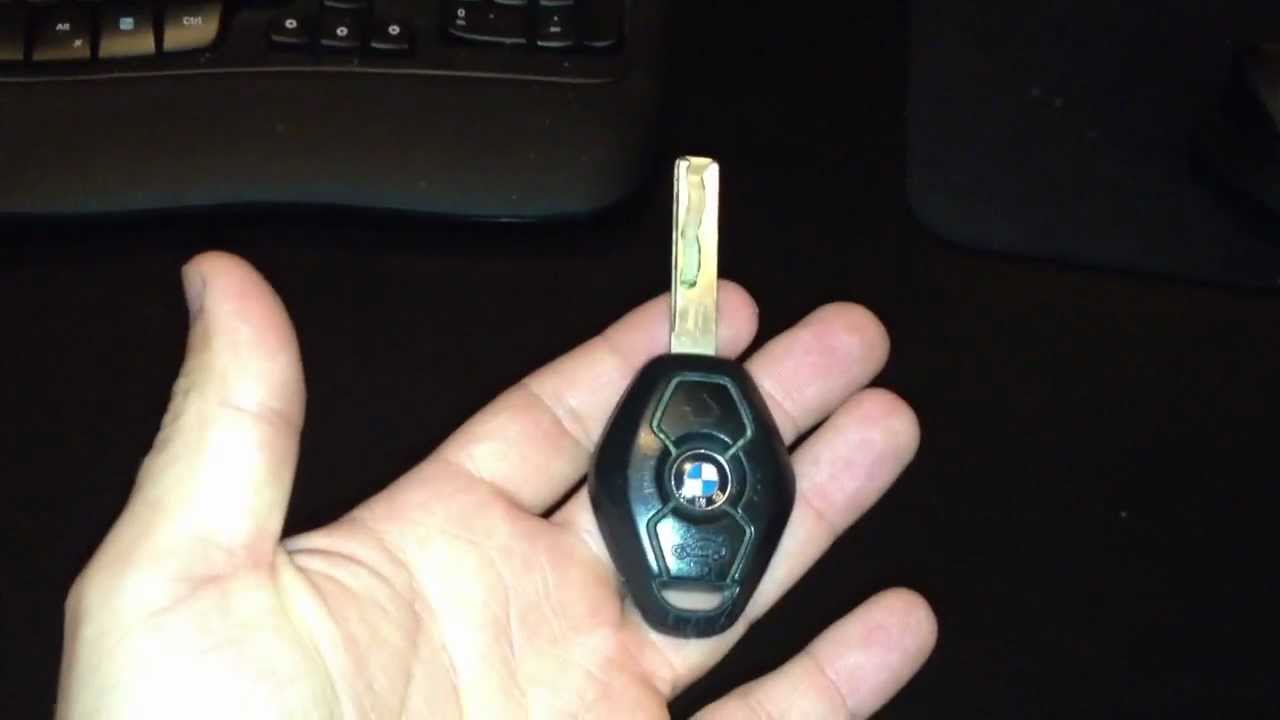 How to change a battery in a BMW key remote e46 e39 525i x3 x5