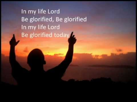 Be Glorified with lyrics