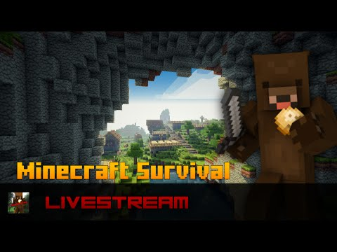 Minecraft Xbox 360 - Survival LIVESTREAM #7