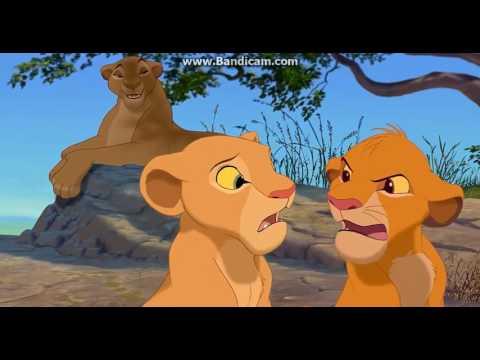 The Lion King-Nala Bath /Zazu Scene