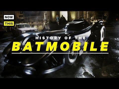 The Batmobile's Live Action Evolution | NowThis Nerd