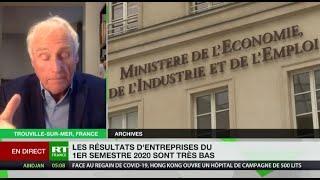 Baisse des résultats d'entreprises en France : «Ça ne s'est jamais vu dans l'histoire économique»