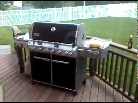 video of peter 39 s new weber summit e 670 in new jersey. Black Bedroom Furniture Sets. Home Design Ideas