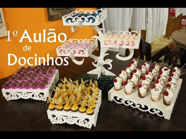 1º AULÃO DE DOCINHOS - FAÇA E VENDA!