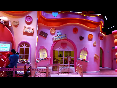 Full Tour SANRIO Hello Kitty Town Malaysia - Puteri Harbour Nusajaya (HD)