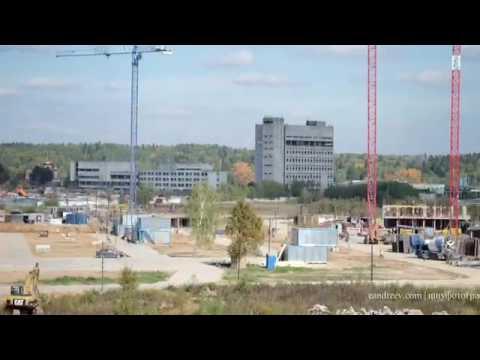Строительство жилого комплекса Внуково 2016 2017