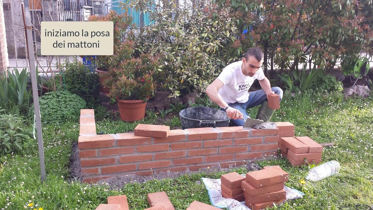 Come Costruire Un Muro Di Pietra.Come Costruire Un Muro In Mattoni Faccia A Vista Youtube
