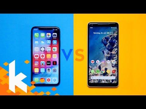iOS 12 vs Android Pie - Die wichtigsten Unterschiede!