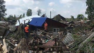 В Иркутской области назвали причину затопления города Нижнеудинска.