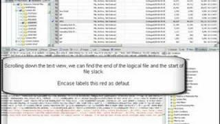 Computer Forensics: Examining File Slack with EnCase