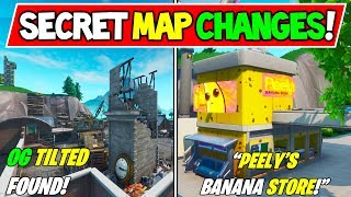 "*NEW* FORTNITE SECRET MAP CHANGES v9.00 SEASON 9! ""RIP PEELY"" + ""OG TITLED FOUND"" Season 9 Storyline"