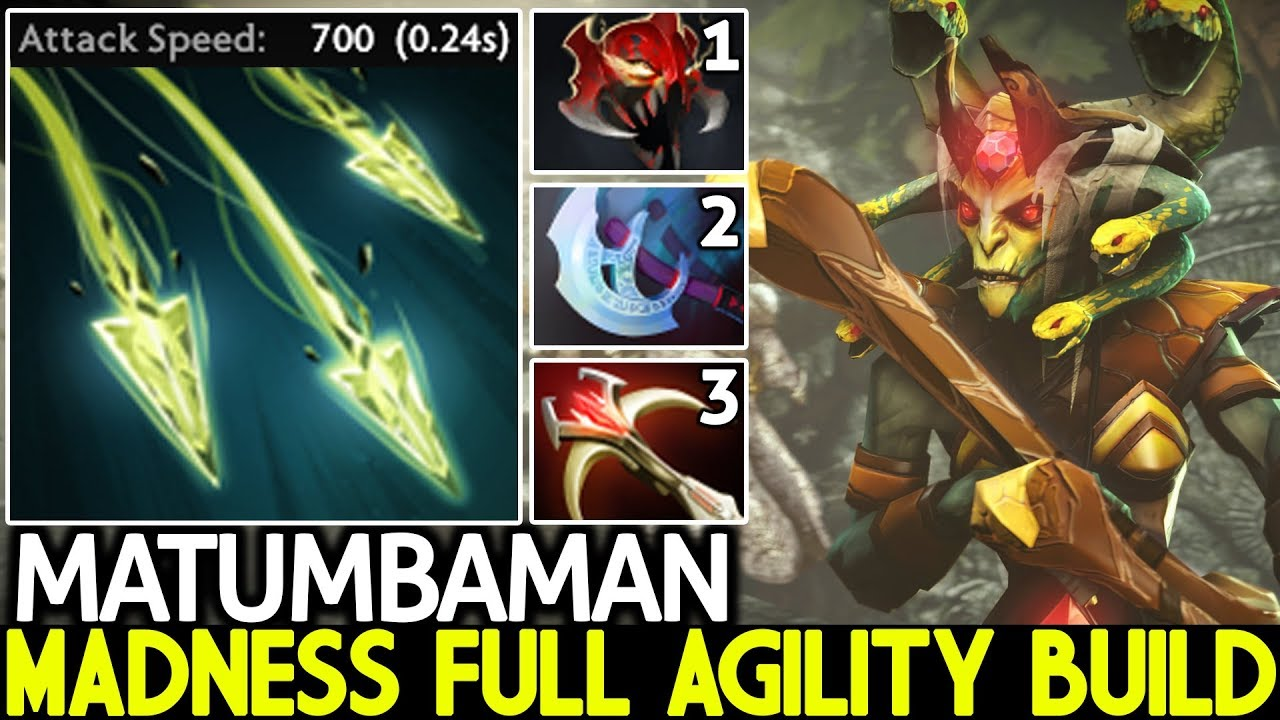MATUMBAMAN [Medusa] Hard Carry Madness Full Agility Build 7.24 Dota 2 thumbnail