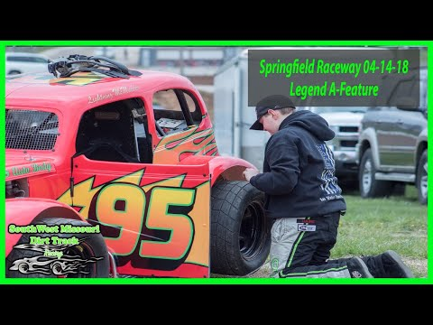 Legend A-Feature - Emergency Services Personnel Night -Springfield Raceway 04-14-2018
