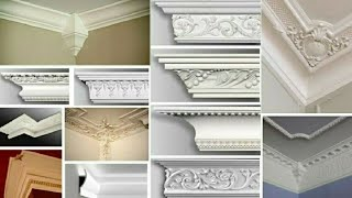 Ceiling Corner Crown Molding Ideas || false ceiling design||false ceiling for bedroom||false ceiling