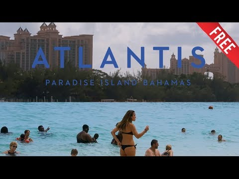 FREE ATLANTIS BAHAMAS & FREE BEACH (From Cruise ship) Allure of the Seas