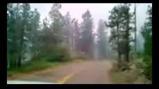 Tres Lagunas Fire in Pecos New Mexico