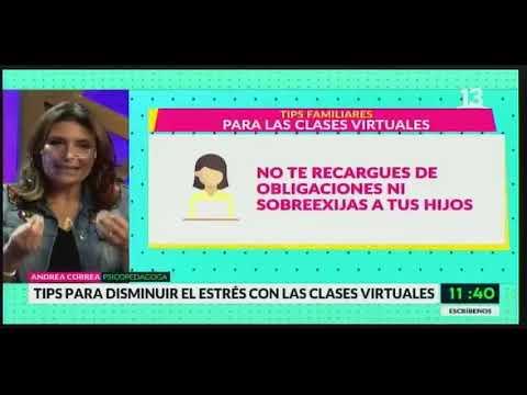 Tips para disminuir el estrés con las clases virtuales, por Andrea Correa