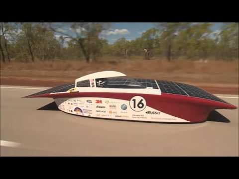 World Solar Challenge mezőny 2015