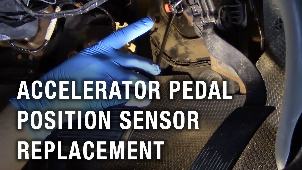 Accelerator Pedal Position Sensor Replacement - Chevy Silverado 2500
