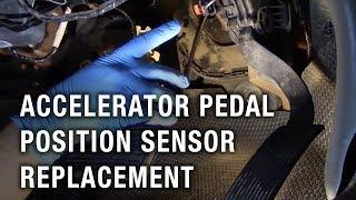 Accelerator Pedal Position Sensor Replacement -  Chevy Silverado 2500