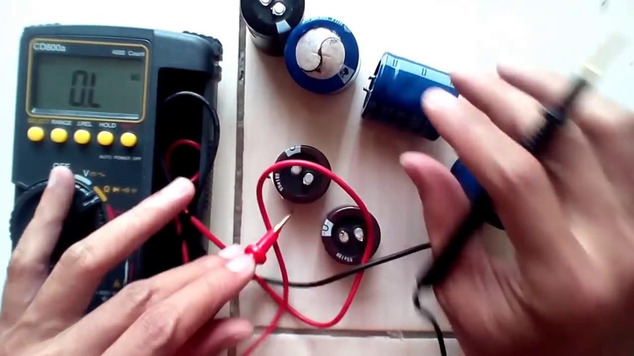 Cara Mengecek Electrolit Condensator Atau Elco Youtube Tang Ampere Sanwa Ac Dc Dcm2000ad How To Check