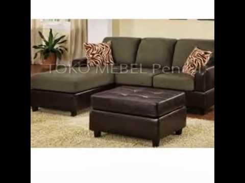 Set Kursi Tamu Sofa Minimalis Kayu Jati Jepara Youtube