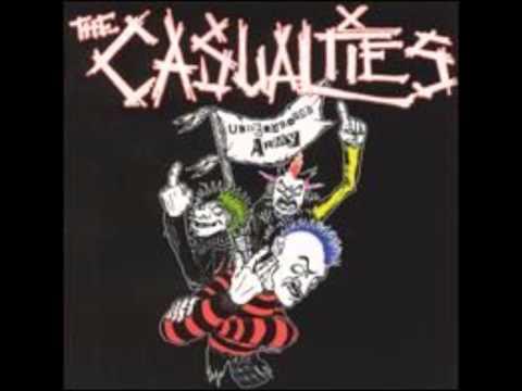 The casualties -- Underground army (full album)