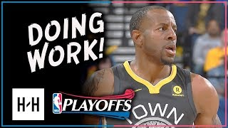 Andre Iguodala Full Game 2 Highlights Warriors vs Spurs 2018 Playoffs - 14 Pts, 7 Reb, 5 Assists!