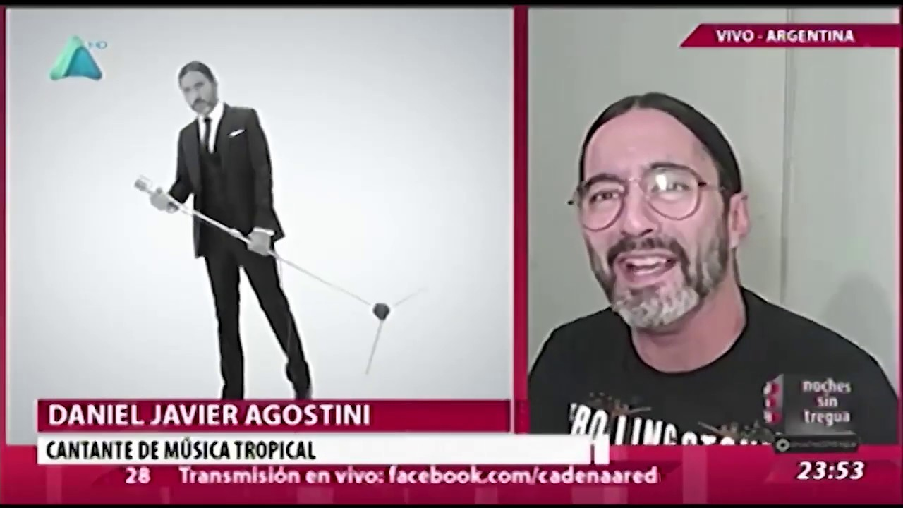 Daniel Agostini en Noches sin Tregua - Bolivia