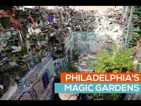 Philadelphia Magic Gardens Tour - Philadelphia PA