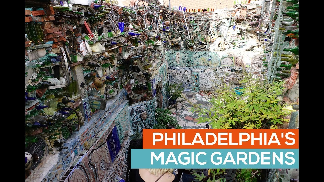 Philadelphia Magic Gardens Tour Philadelphia Pa Youtube