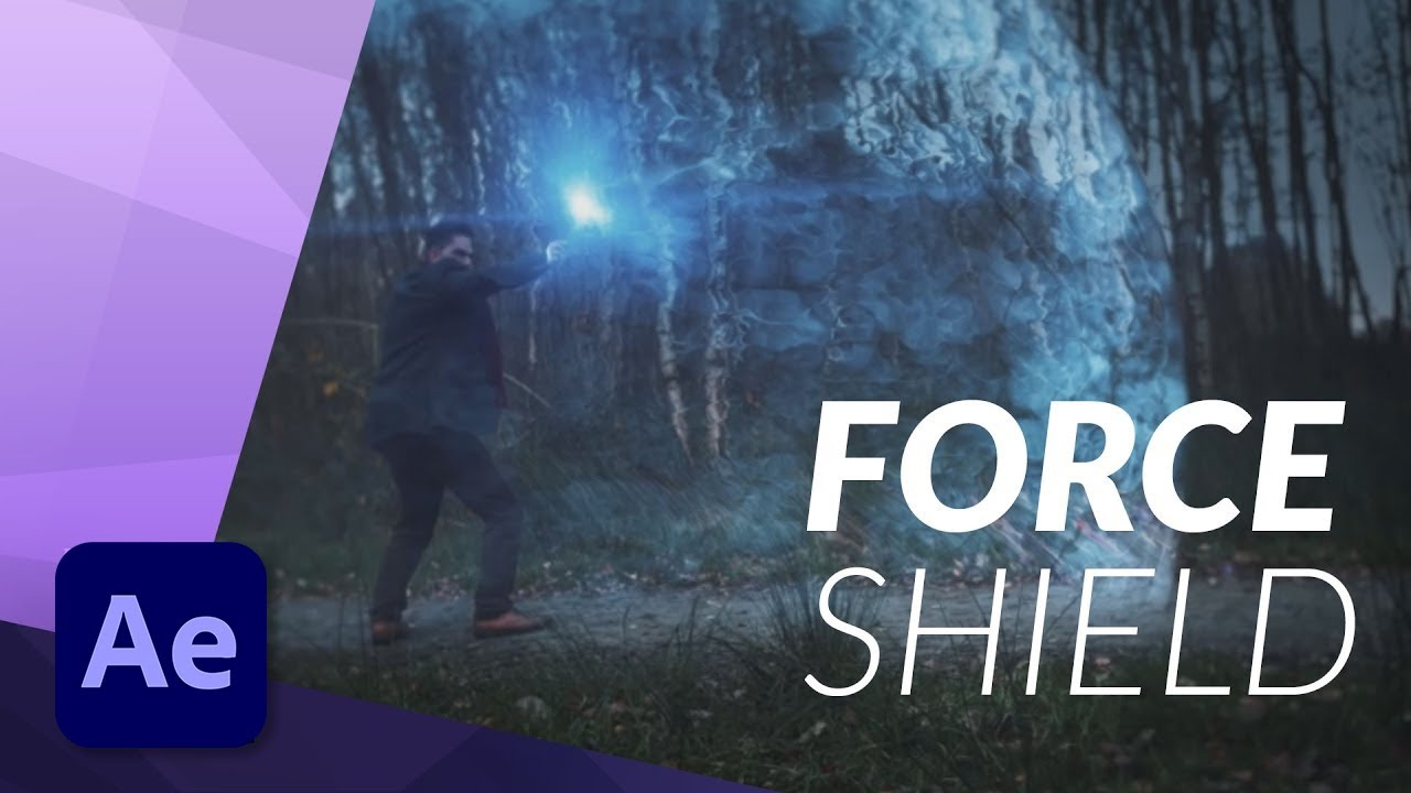 How To Create an EPIC FORCE SHIELD for FILM in Adobe After Effects - VFX TUTORIAL