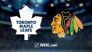 Blackhawks erupt for seven goals in win over Toronto