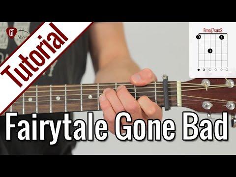 Sunrise Avenue - Fairytale Gone Bad   Gitarren Tutorial Deutsch