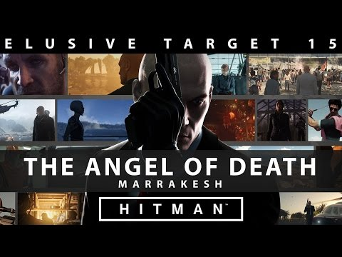 Hitman Elusive Target #15 - The Angel of Death - Live Stream