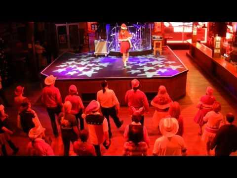 LOCKLIN'S BAR Line Dance (Démo) - Séverine Moulin Billy Bob's