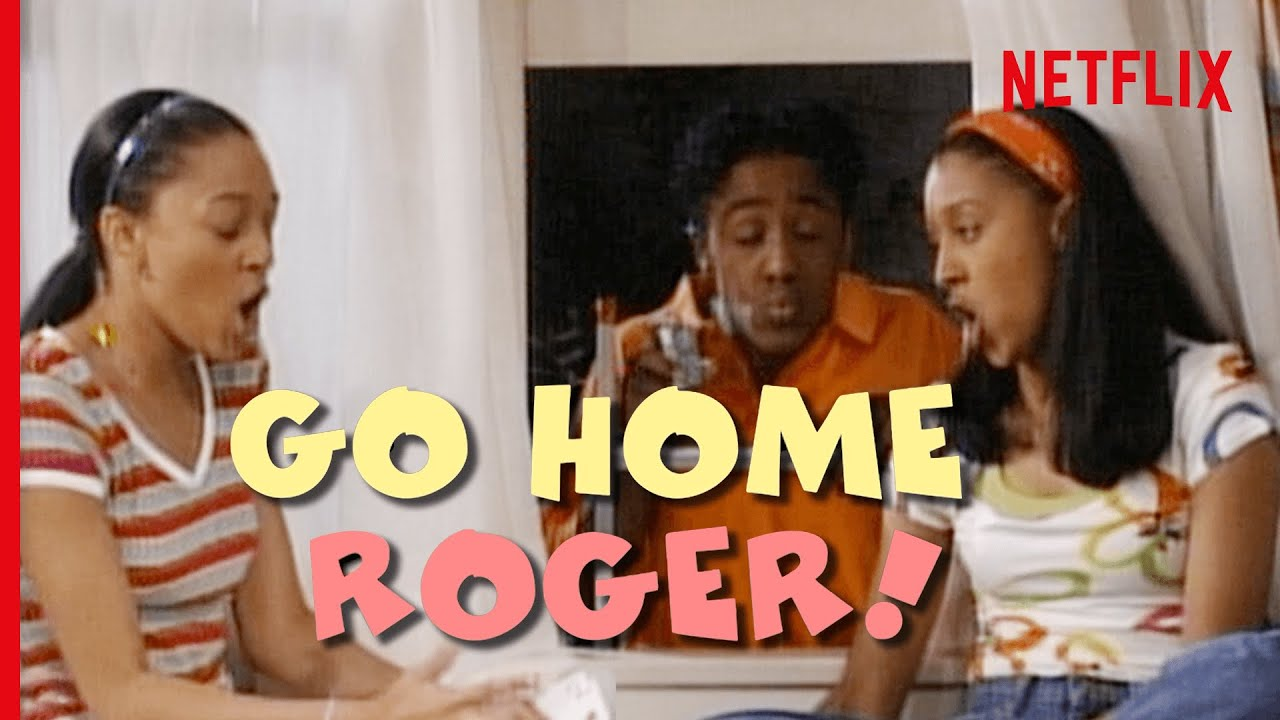 """Every Single """"Go Home Roger!"""" In Sister, Sister   Netflix"""