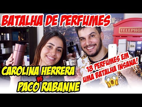 Carolina Herrera VS Paco Rabanne - Quem ganha essa Batalha de Perfumes Importados ? Partic. Deise